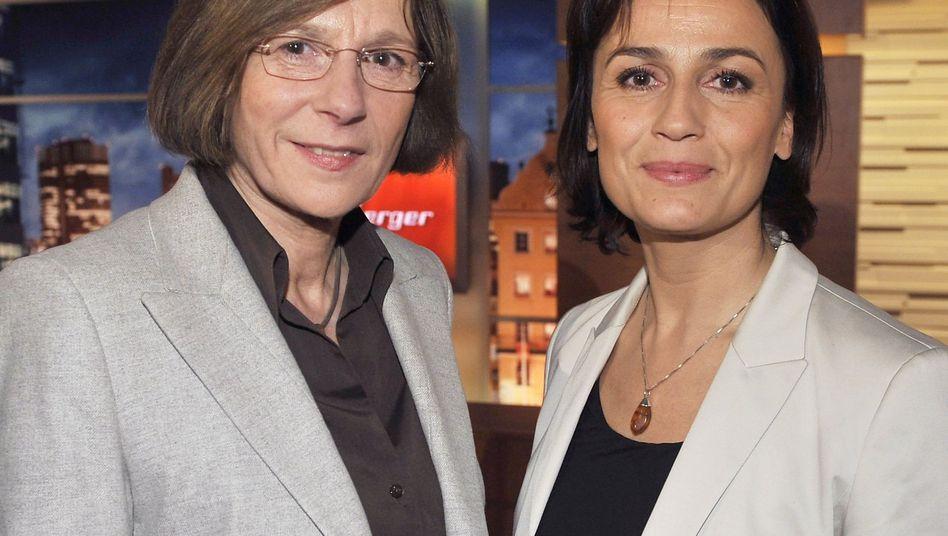 Moderatorin Sandra Maischberger: Besser motiviert?