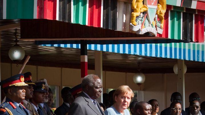 Kenia, Angola, Nigeria: Kanzlerin Merkel und ihr Afrika-Trip