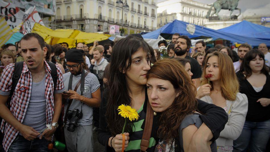 Protest in Madrid gegen den Sparkurs: Solidaritätsfonds für Krisenländer?