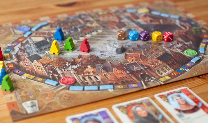 """""""Brügge"""": Die Spieler kämpfen um die Macht in der mittelalterlichen Stadt"""
