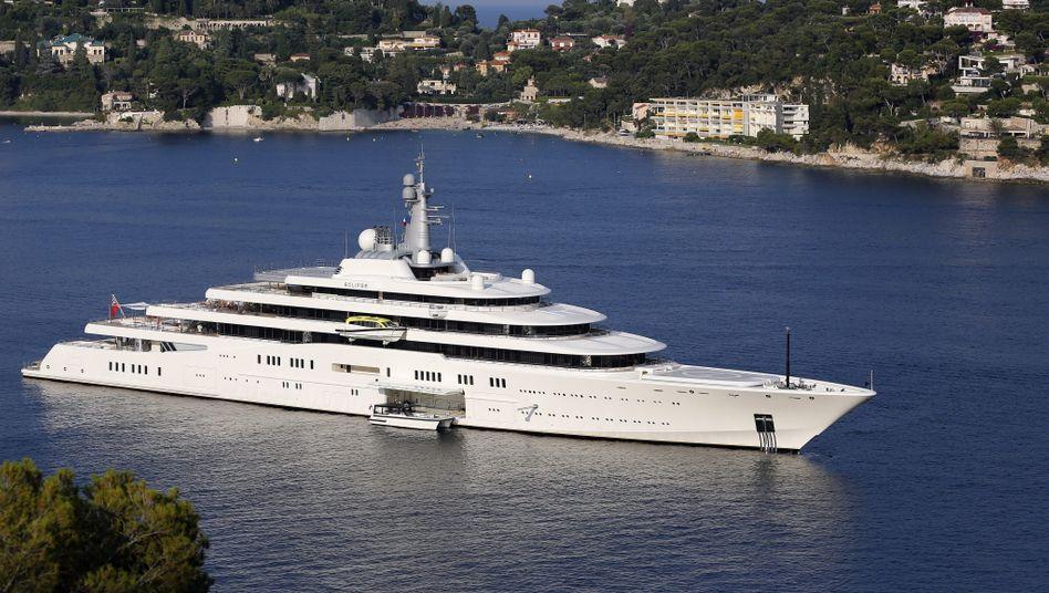 Luxusjacht 'Eclipse' von Oligarch Roman Abramowitsch