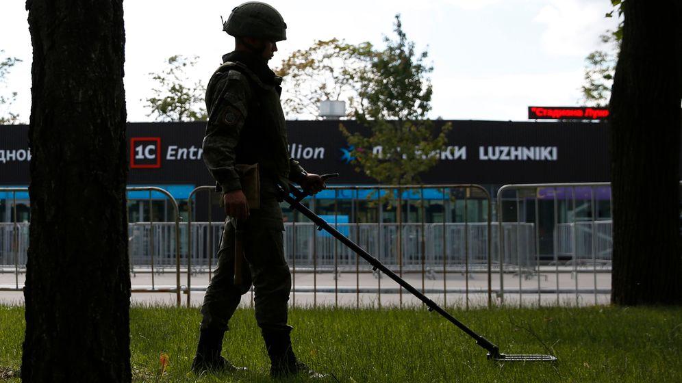 WM in Russland: Sicherheit über alles