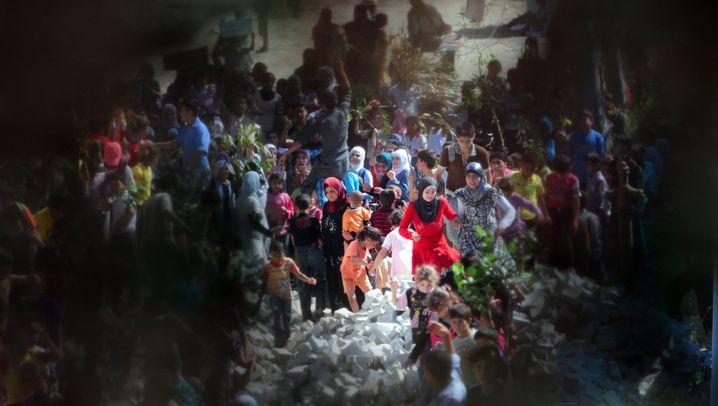 Syrische Flüchtlinge in der Türkei: Hinter uns das Grauen
