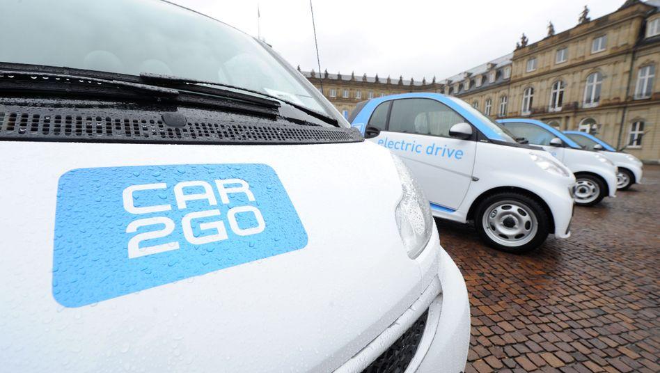 Car2Go in Stuttgart: Carsharing als Exportschlager von Daimler