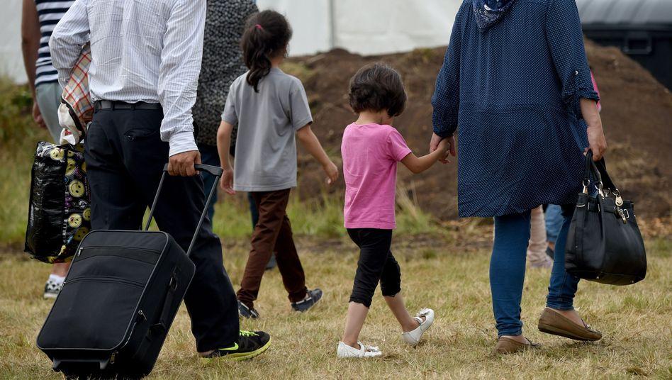 Neue Erstaufnahmestelle in Rendsburg, Schleswig-Holstein: Platz für 800 Flüchtlinge