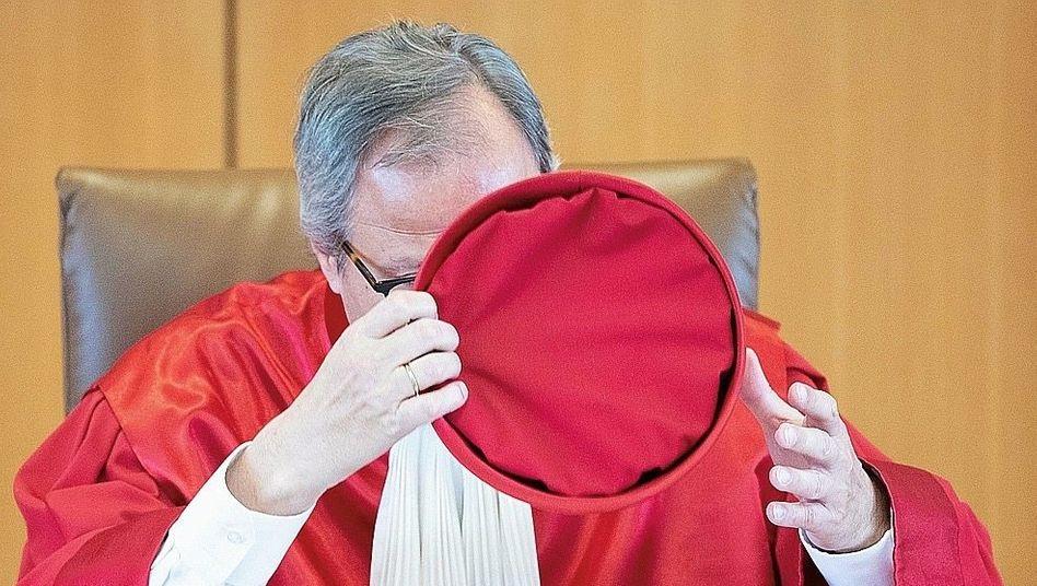 Verfassungsgerichtspräsident Voßkuhle