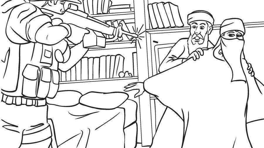 Malbuch-Illustration