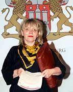 Kann beachtliche Erfolge im Kampf gegen Scientology vorweisen: Die Leiterin der Hamburger Arbeitsgruppe Scientology, Ursula Caberta