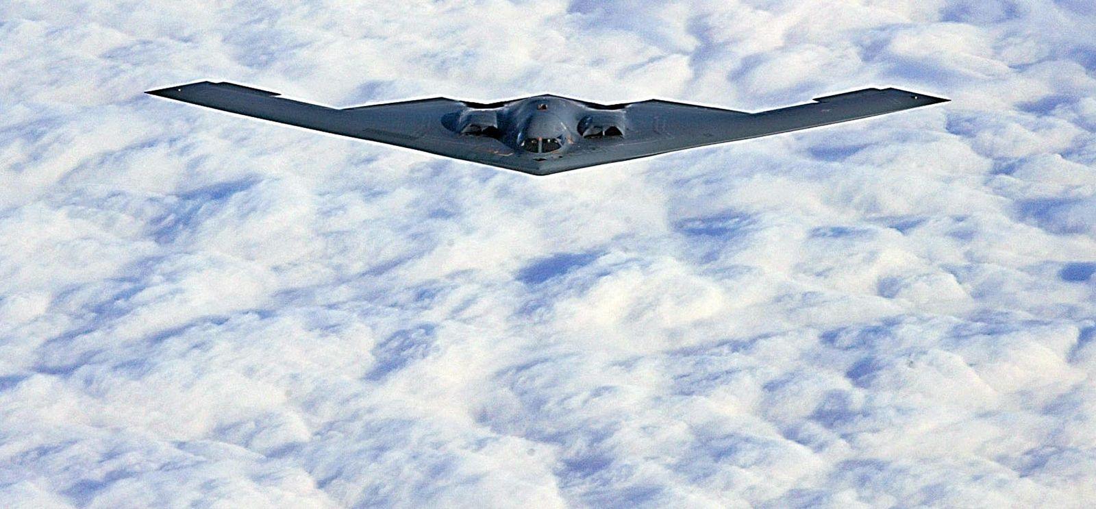 Libyen/ US-Bomber Stealth B2/ Archivbild