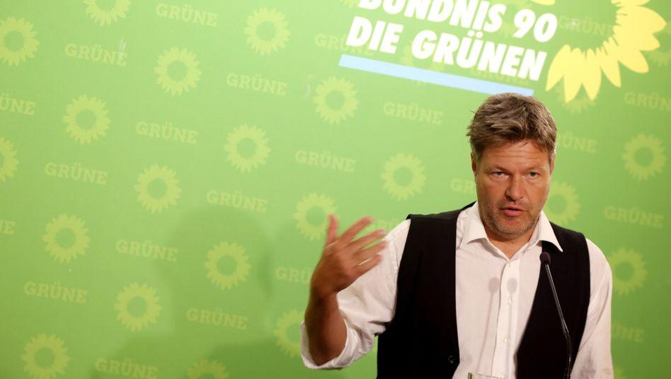 "Robert Habeck: ""Sonst erodiert der Gemeinsinn"""