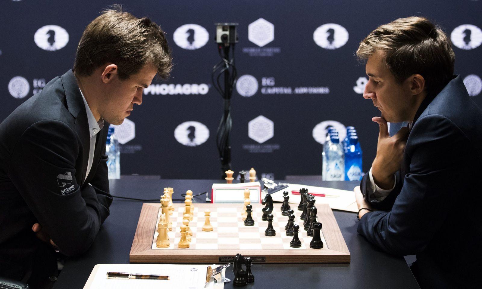 World Chess Championships Round 1