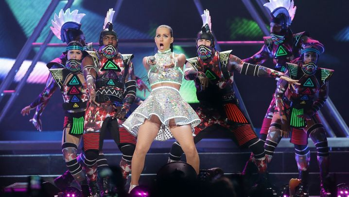 Katy Perry beim Super Bowl: Königin der Pausenfüller