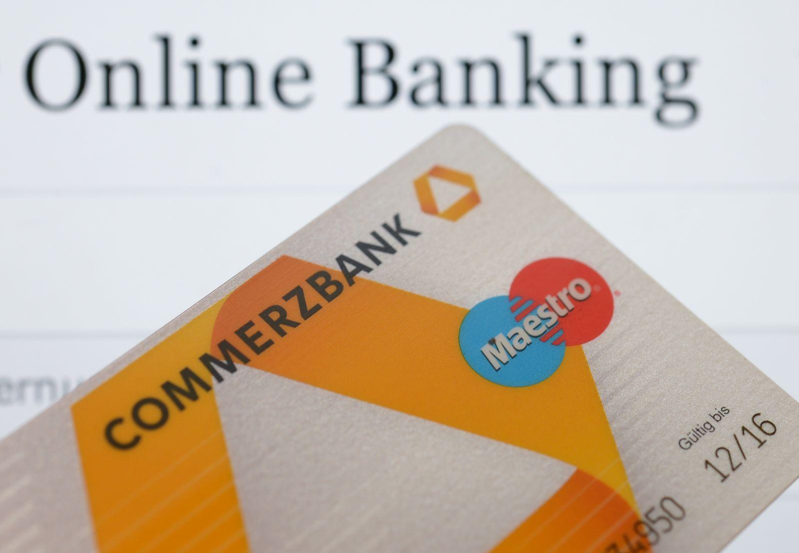 Illustration Online-Banking