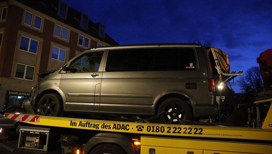 Täterfahrzeug von Münster