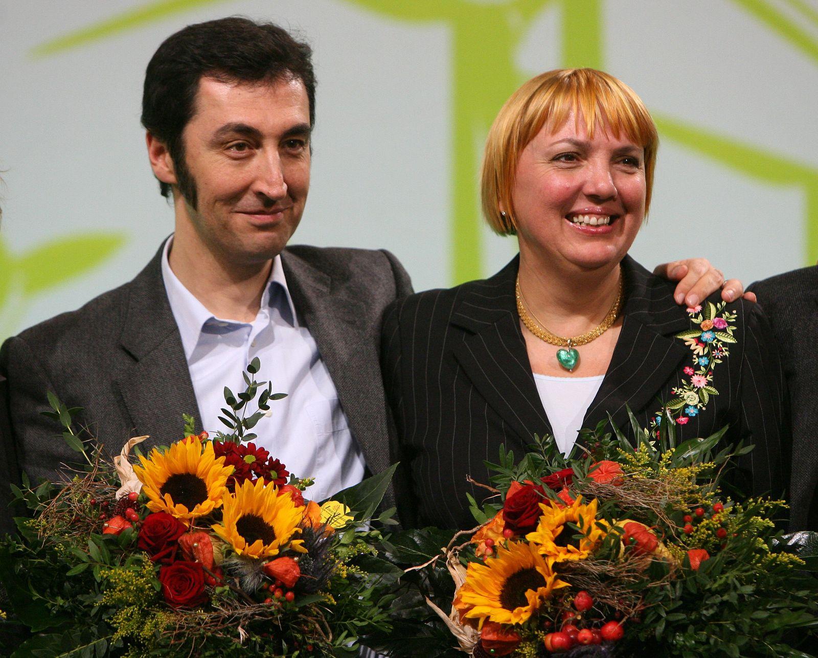 Bundesparteitag der Grünen in Erfurt - Özdemir Roth
