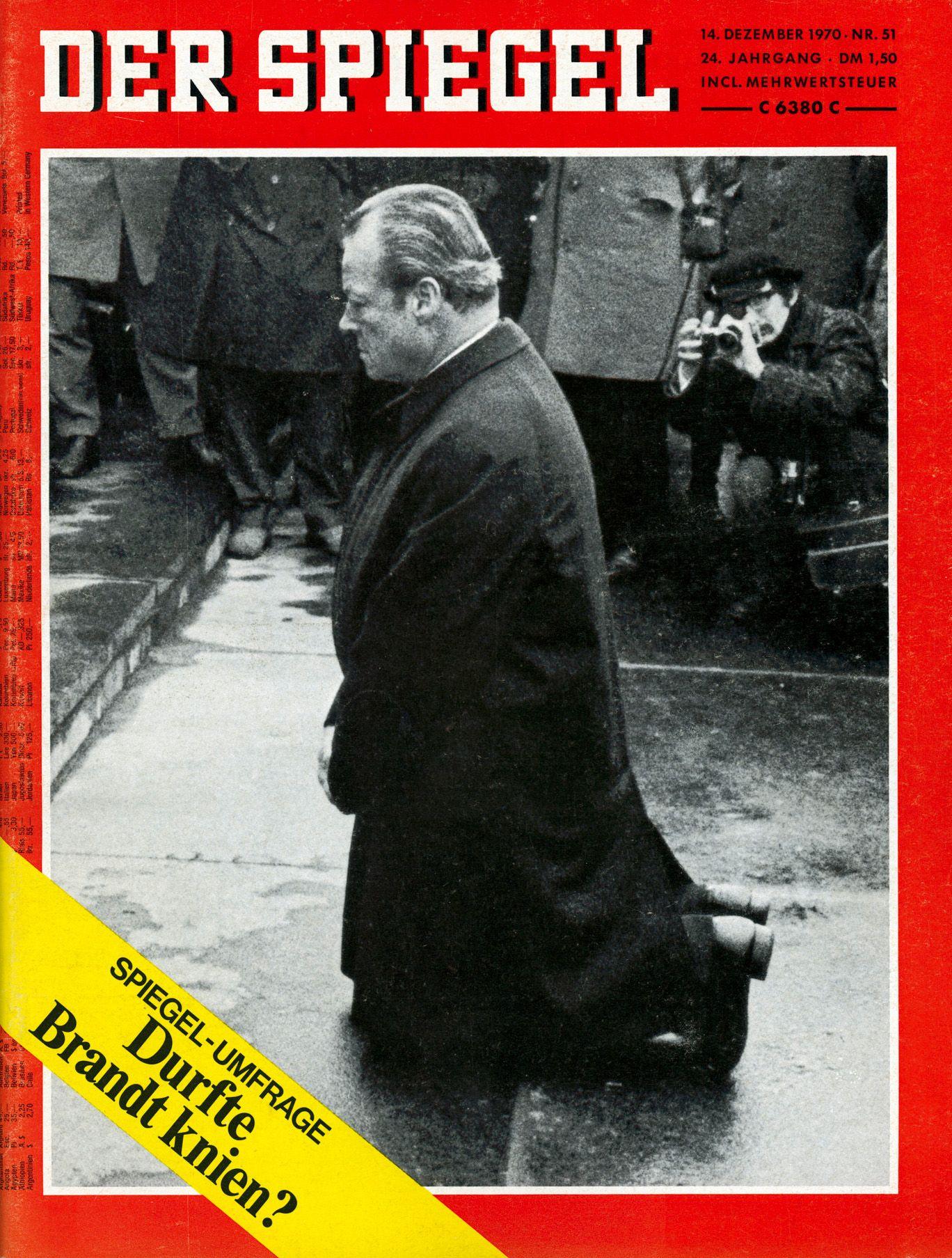 SPIEGEL-Titel 51/1970