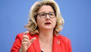 Umweltministerin Schulze will rasche Nachbesserung beim Klimaschutzgesetz