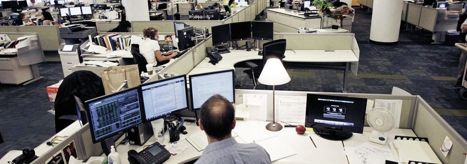 Newsroom der Nachrichtenagentur AP in New York