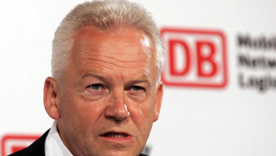 Bahnchef Rüdiger Grube: Unternehmen will Berufung gegen das Urteil einlegen