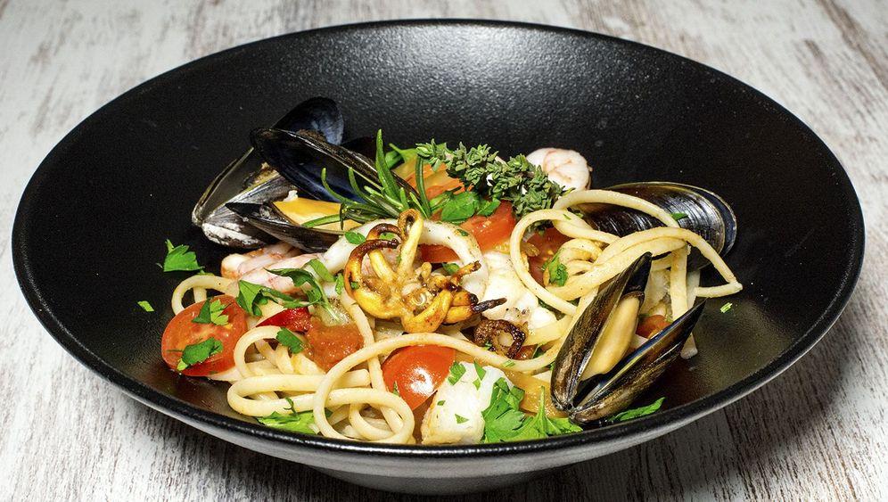 Hauptgericht für 4 Personen: Rezept für Spaghetti Marisco