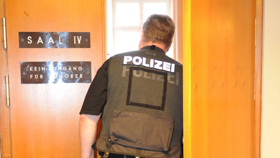 Polizist im Freiburger Landgericht: Prozess unter erhöhten Sicherheitsvorkehrungen