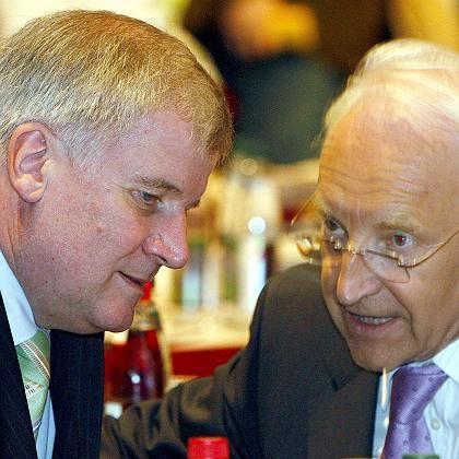 """Seehofer, Stoiber: """"Unanständig, dass so etwas in den Medien gestreut wird"""""""