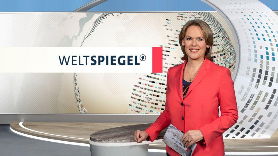 Auch Ute Brucker moderiert den Weltspiegel