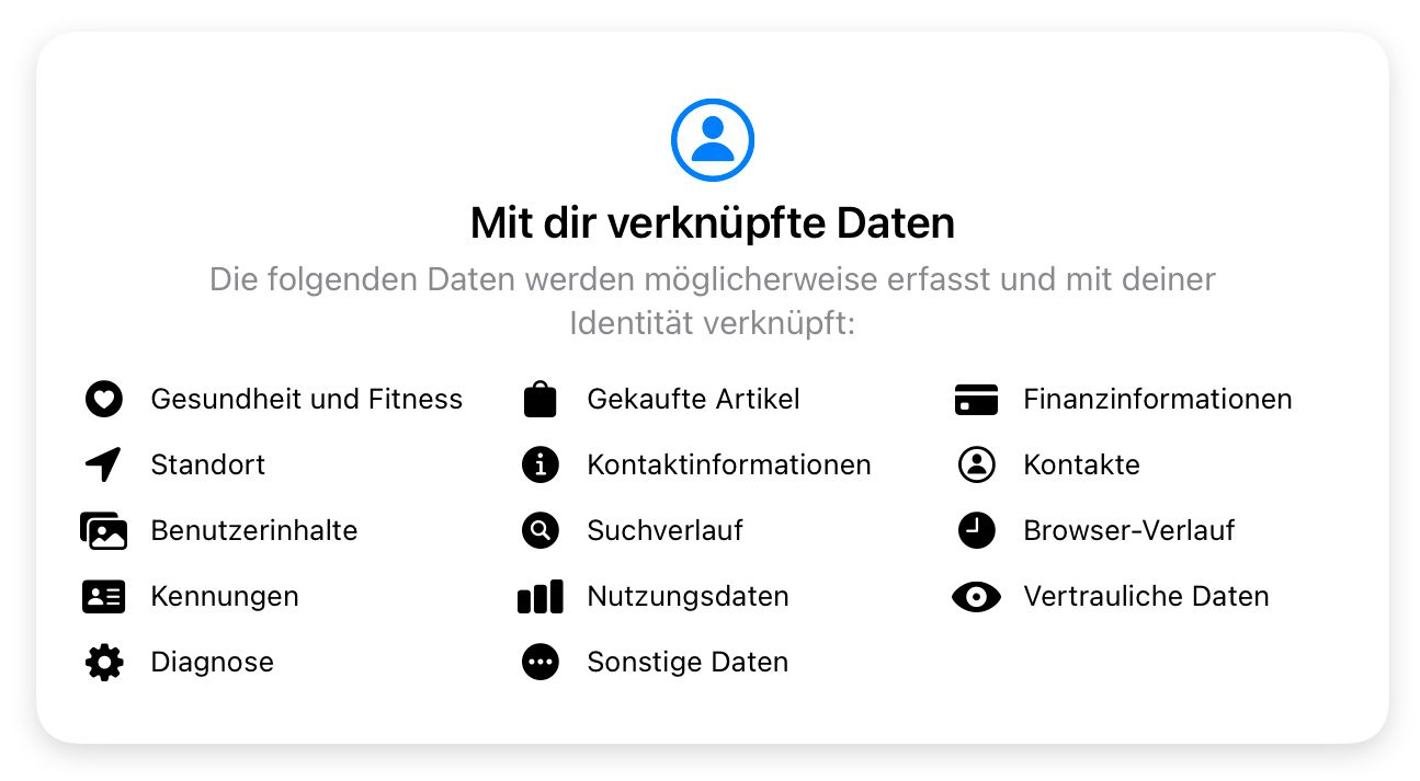 App Store Datenschutz