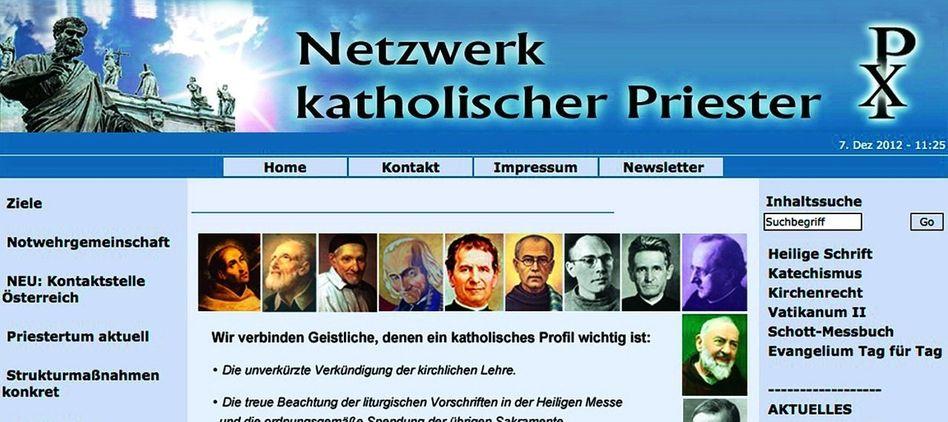 Katholische Website: Am rechten Rand