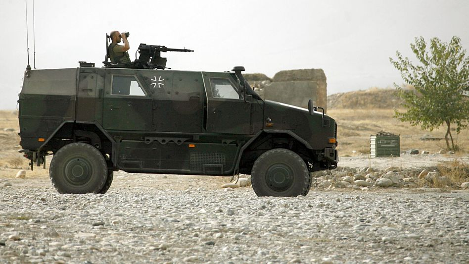 Bundeswehrfahrzeug vom Typ Dingo: Soldaten offenbar nicht ausreichend geschult