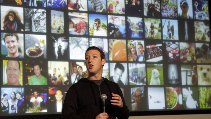 """Angriff auf Google: Facebook präsentiert """"Graph Search"""""""