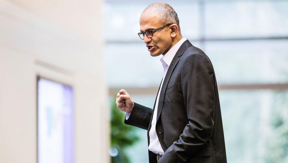 Neuer Microsoft-Chef Satya Nadella: Office für Apples Tablet-Rechner