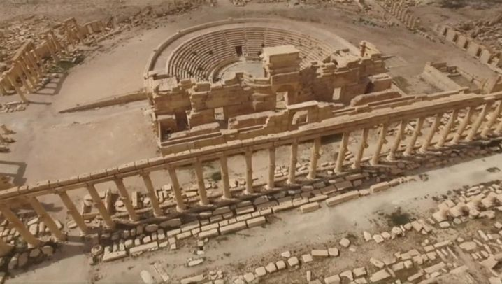 Palmyra in Syrien: Zerstörtes Weltkulturerbe