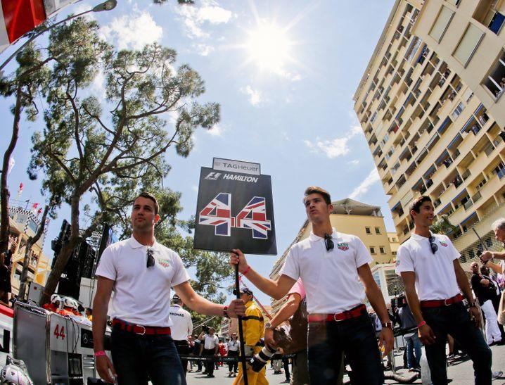 """Grid-Boys"" beim GP in Monaco 2015"