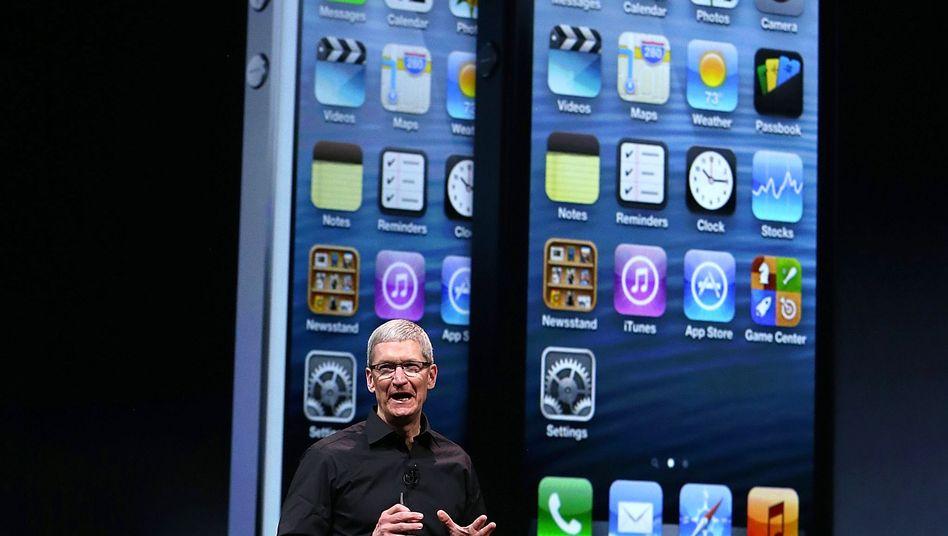 iPhone 5: Apple macht's dünner, leichter und größer