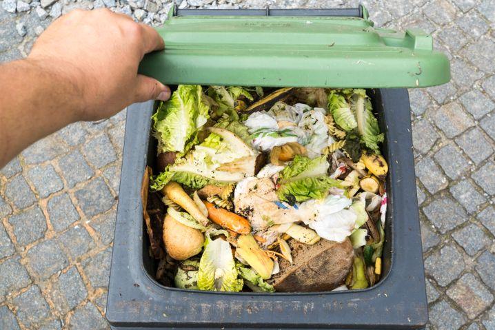 Jeder Mensch in Deutschland wirft im Schnitt etwa 75 Kilogramm Lebensmittel pro Jahr weg