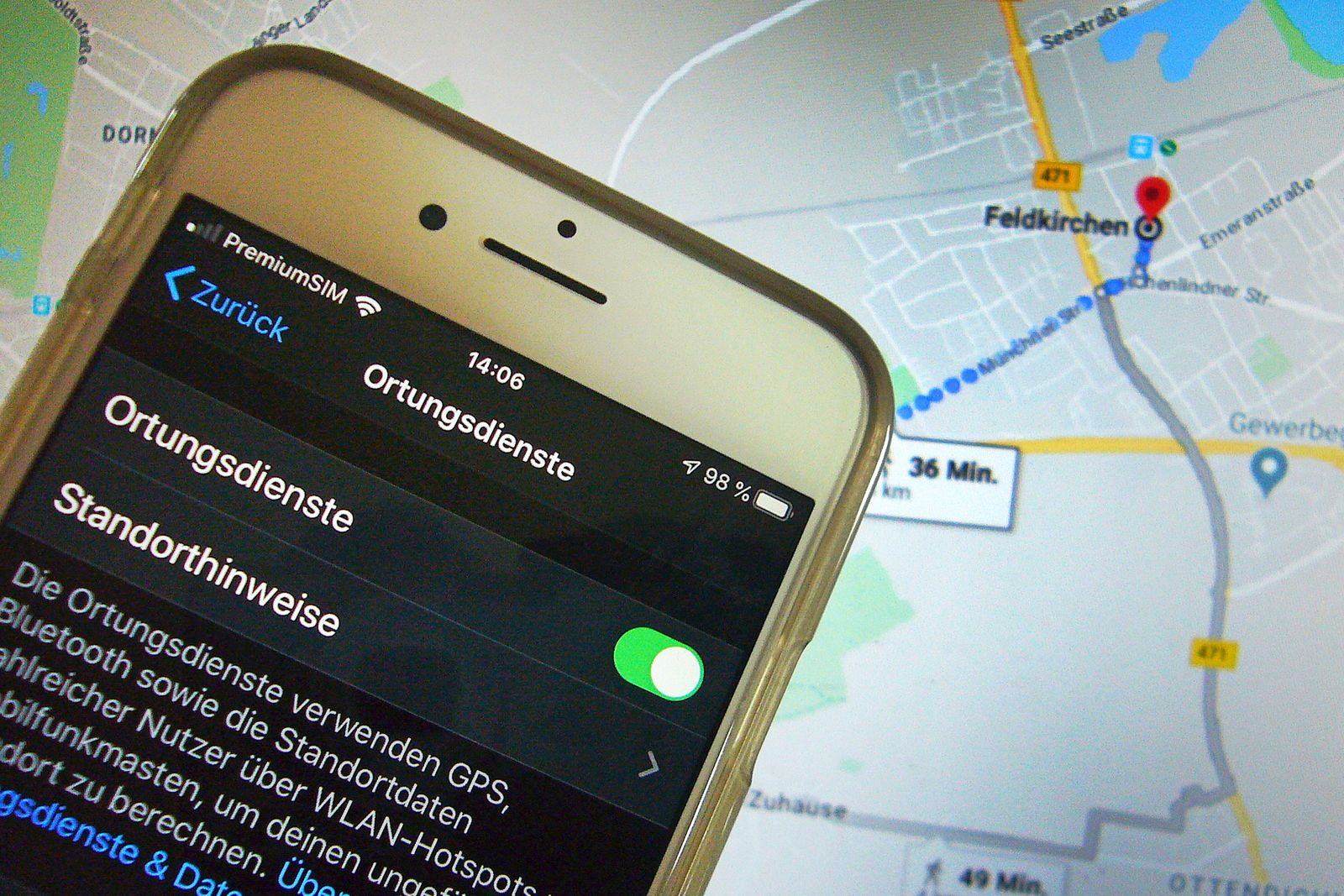 Themenbld Handyortung. Massnahmen gegen Covid-19 Telekom: Tracking von Infizierten ist Unfug Im Robert-Koch-Institut (RK