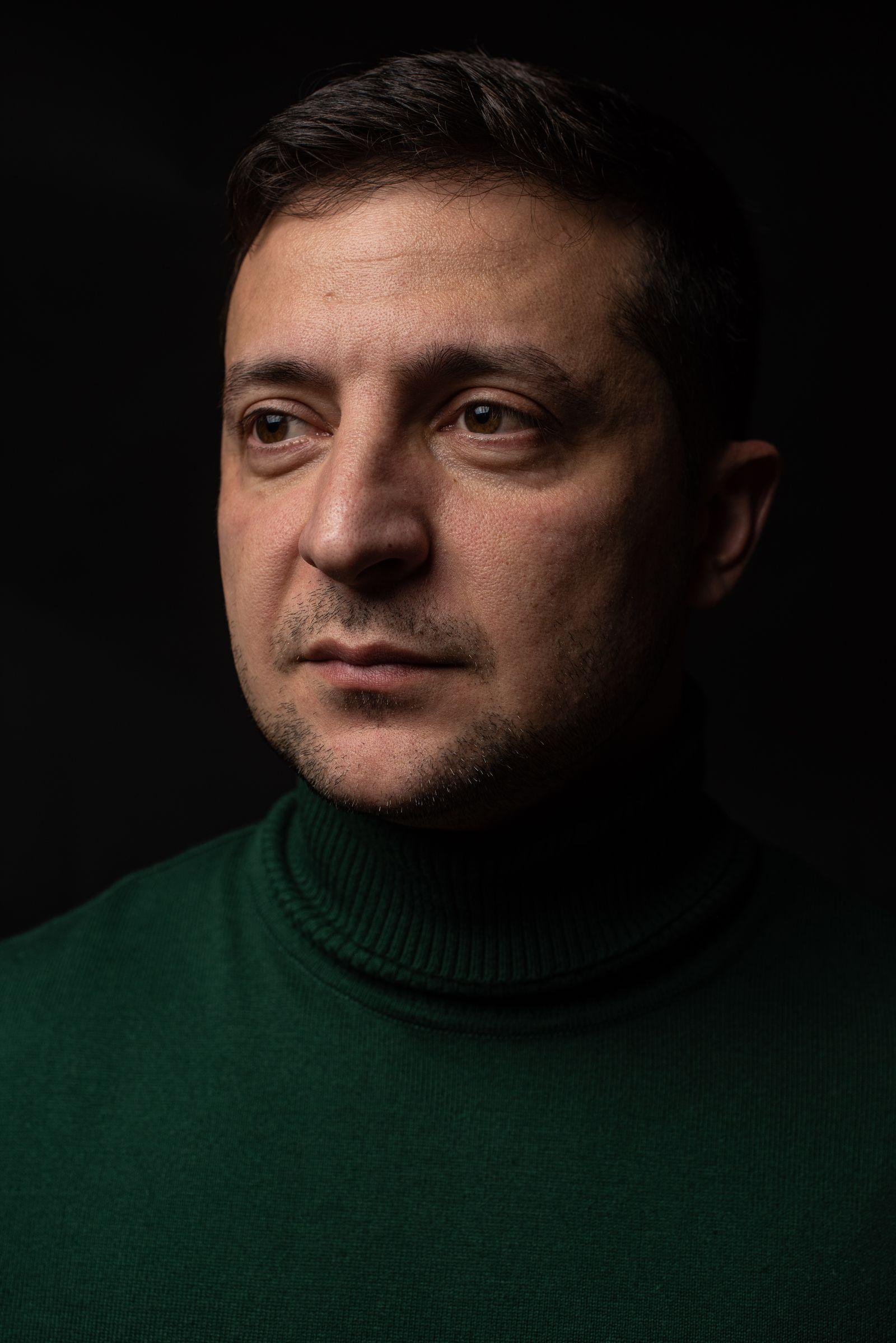 EINMALIGE VERWENDUNG Wolodymyr Selenskyj/ SPIEGEL Interview/ Ukraine