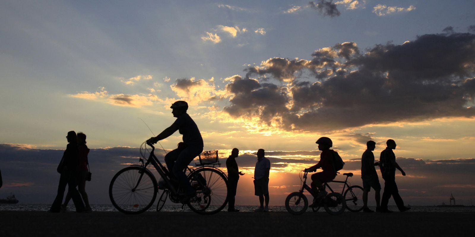 Bewegung / Walking / Fahrradfahren