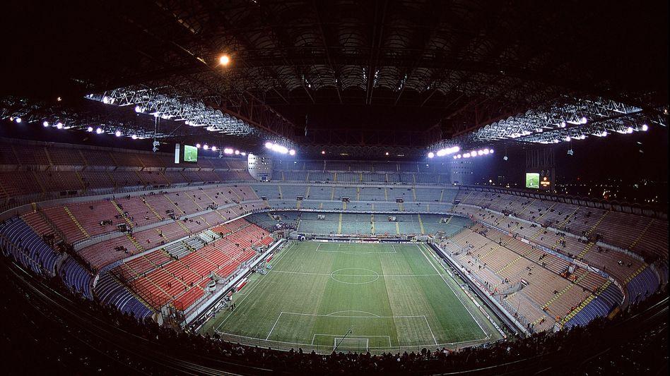 Meazza-Stadion in Mailand: Wiederholungstätern droht ein Geisterspiel