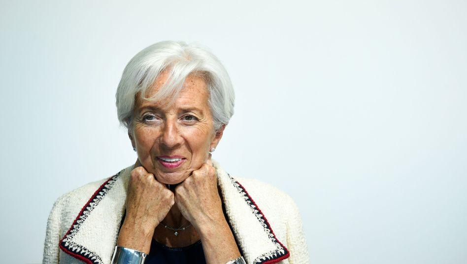 """Künftige EZB-Chefin Lagarde: """"Mehr Frauen in der Finanzwelt"""""""
