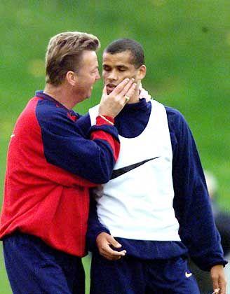 """Luis van Gaal: """"Wenn es nach mir gegangen wäre, hätte Barca Rivaldo schon vor drei Jahren verkauft"""""""