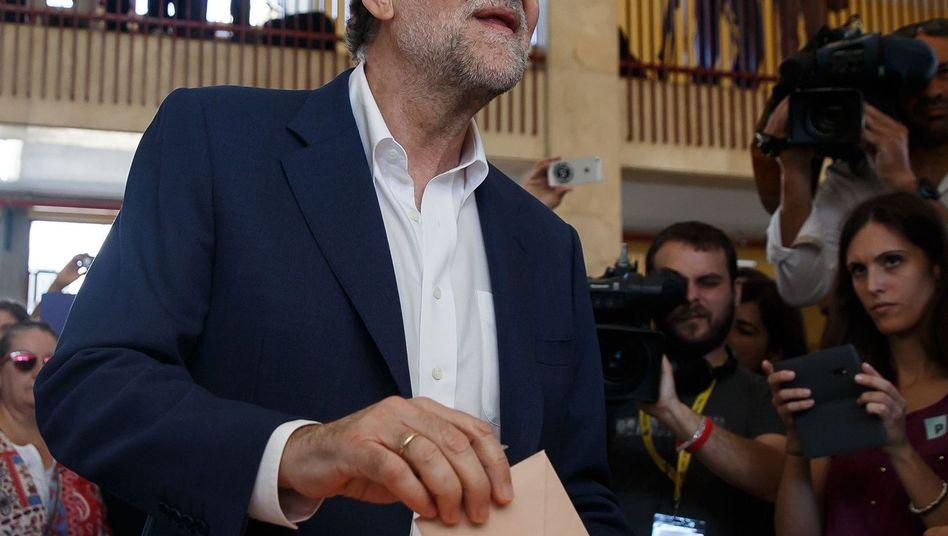 Spaniens Premier Rajoy