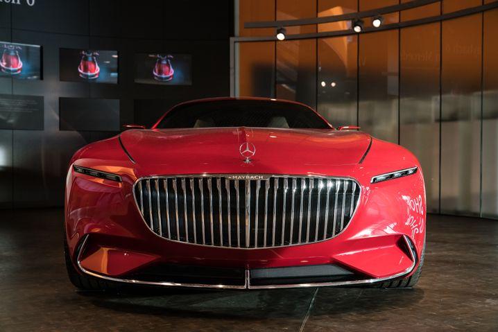 Mercedes-Maybach-Studie mit Elektroantrieb: Vielleicht nur so eine präpotente Idee