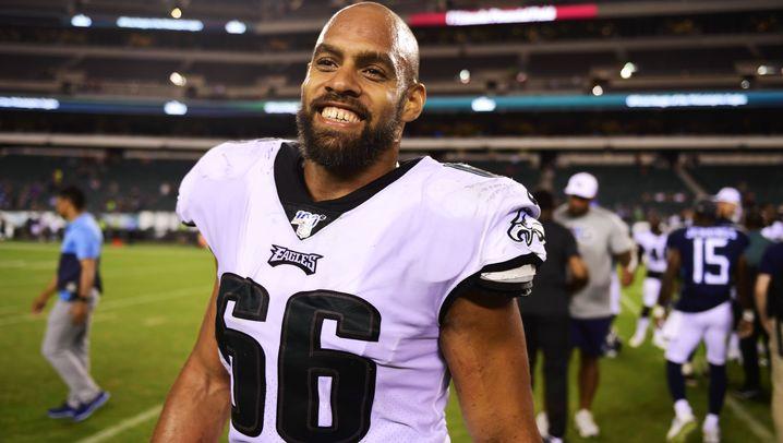 Kasim Edebali aus der NFL: Der Wanderer