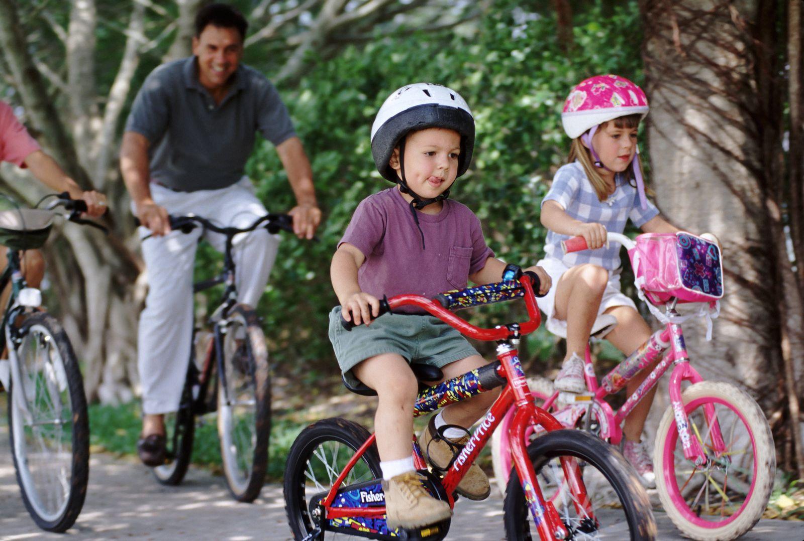 NICHT MEHR VERWENDEN! - Symbolbild Fahrrad fahren / Kinder
