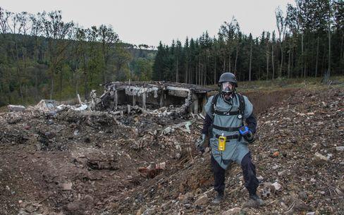 Munitionslager in Osttschechien nach Explosionen (Archivfoto): »Destabilisierende Maßnahmen«