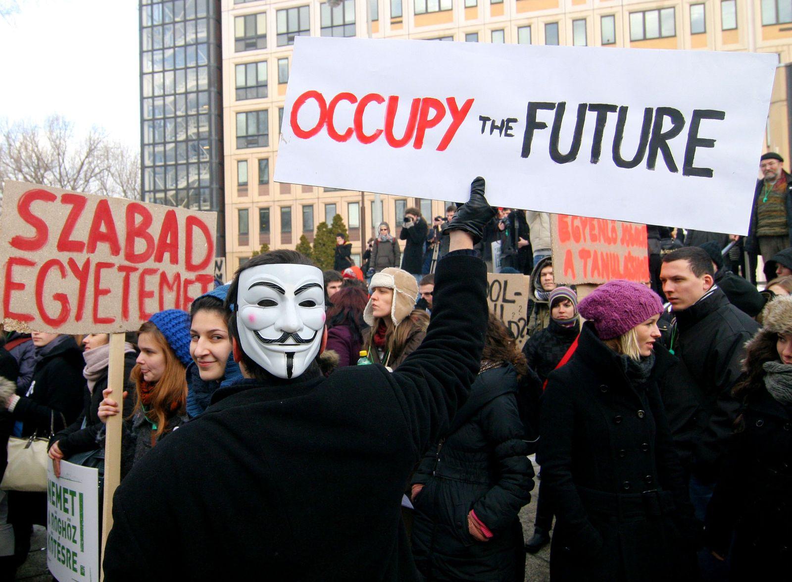 NUR FÜR SPAM HUNGARY-EDUCATION-PROTEST