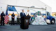 US-Drogenfahnder beschlagnahmen Rekordmenge Crystal Meth