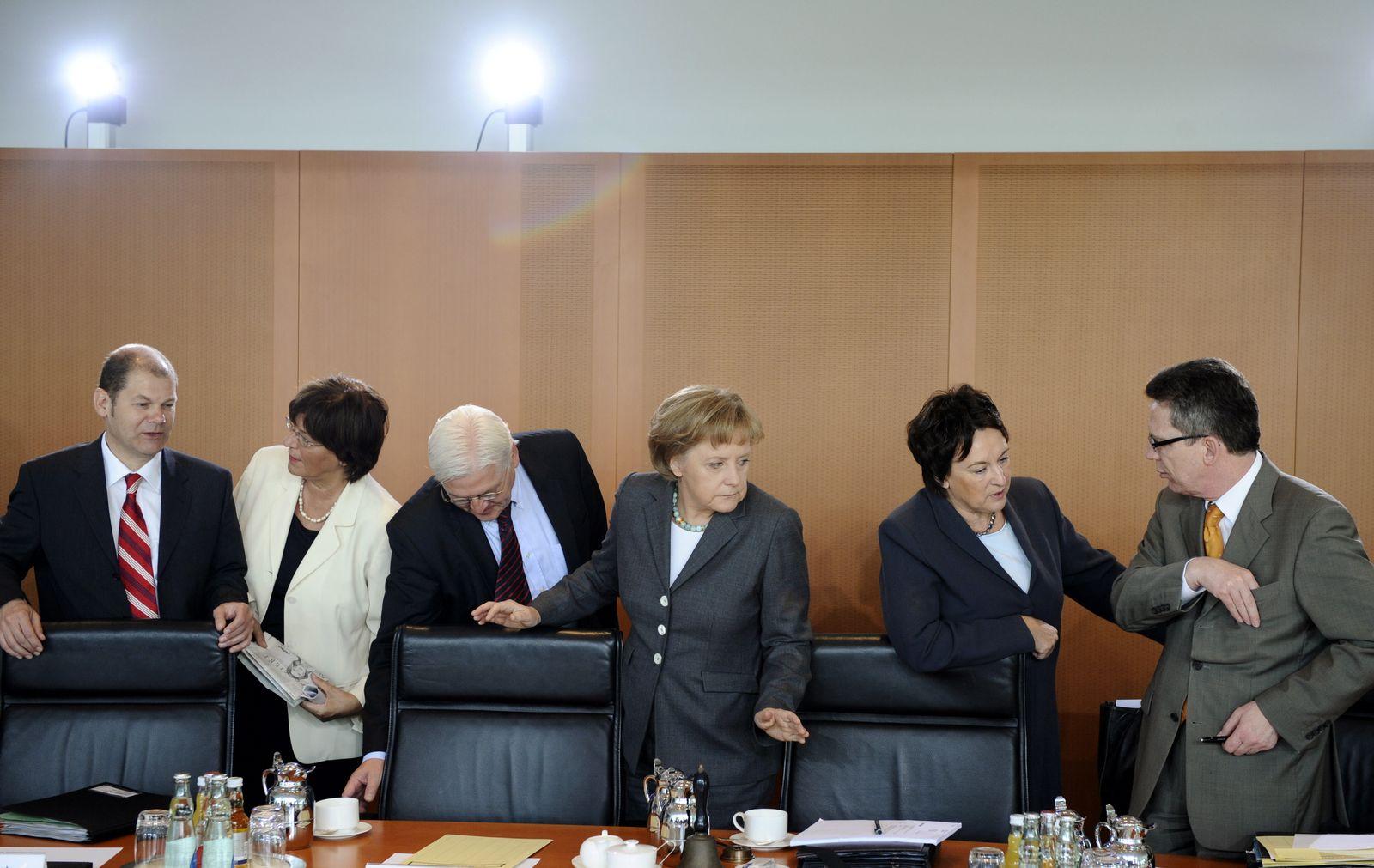 NICHT VERWENDEN Bundeskabinett